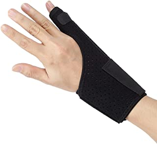 Ultrafun Trigger Finger Splint Brace Support Breathable Wrist and Thumb Fracture Finger Stabilizer Brace Sleeves for Pain ...