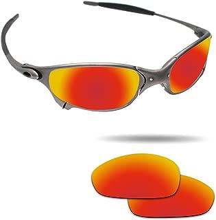 Fiskr Anti-saltwater Polarized Replacement Lenses for Oakley Juliet Sunglasses - Various Colors