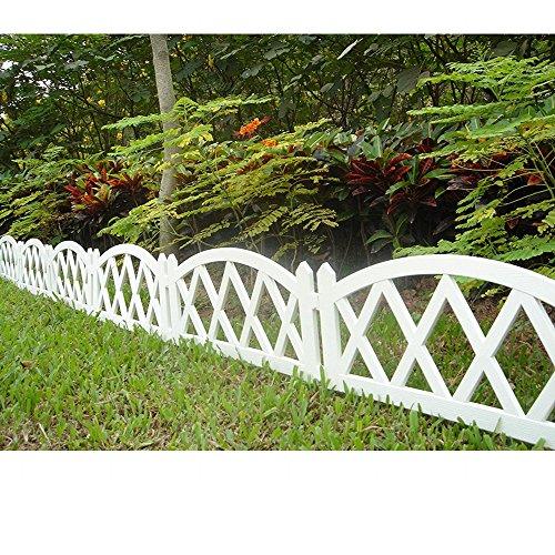 Worth Garden #3118 Kunststoff-Zaunlatten für den Innen- und Außenbereich