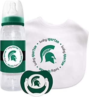 Michigan State Spartans Baby Gift Set: Kickoff Collection 3-Piece Baby Feeding Set