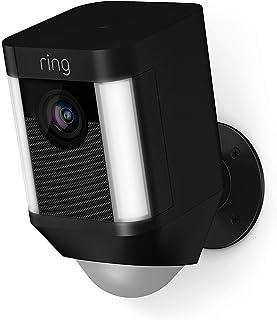 Ring Spotlight Cam Battery | Cámara de seguridad HD con foco LED alarma comunicación bidireccional funciona con batería