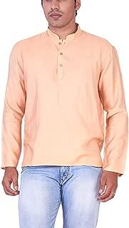 Mark Anderson Men's Cotton Golg Colour Kurta