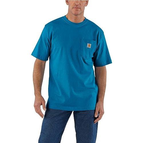 ac8d828e7150 Carhartt Men's Work Wear Pocket Short-Sleeve T-Shirt