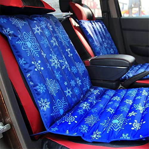 """17.7/""""×17.7/"""" Summer Ice Pad Cooling Water Cushion Seat Cover Chair Seat Sofa gse"""