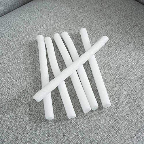 LRuilo Bastones de espuma antideslizantes para sofá elástico, funda de sofá, funda antideslizante antideslizante para fundas de sofá (10 piezas)
