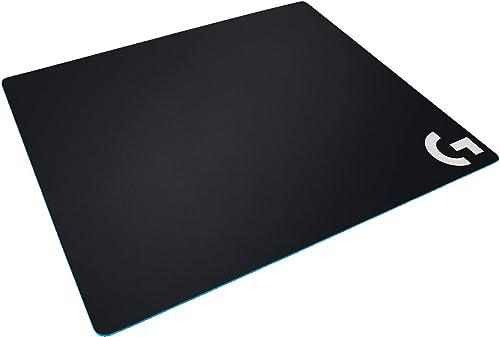 Logitech G640 Tapis de Souris Gamer en Tissu, Pour Souris Gaming Filaire ou sans Fil, 460 x 400mm, Epaisseur 3mm, Com...
