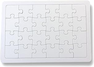 kdc 無地ホワイトパズル A4 ラージピース 24P