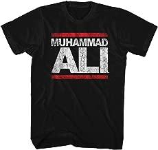 Muhammad Ali T-shirt Adult Run Ali Black Tee, Medium
