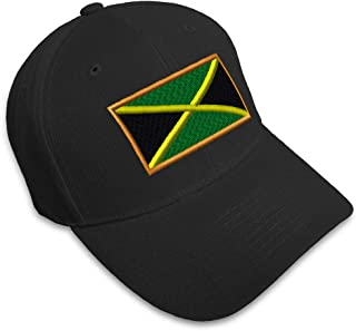 Custom Baseball Cap Jamaica Embroidery Dad Hats for Men & Women Strap Closure