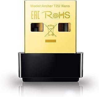 TP-Link Nano AC600 USB Wifi Adapter(Archer T2U Nano)- 2.4G/5G Dual Band Wireless Network Adapter for PC Desktop, Mini Trav...