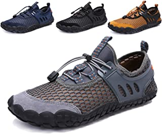 f0d3a59d768969 DoGeek Water Shoes Men Women for Aqua Surf Beach Wetsuit Trainers  Lightweight Mesh Breathable Sandals (
