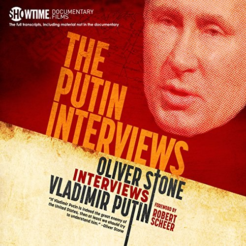 The Putin Interviews audiobook cover art