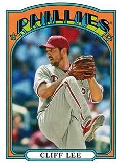 2013 Topps 1972 Topps Minis #TM-33 Cliff Lee Phillies MLB Baseball Card NM-MT