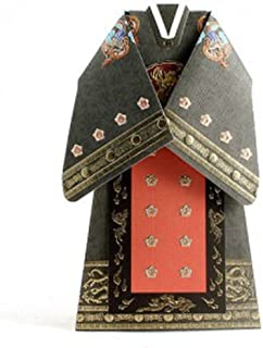 Thank you Greeting Cards Card Korean Traditional Hanbok (King's Ceremonial Robe with Nine-symbol Design)