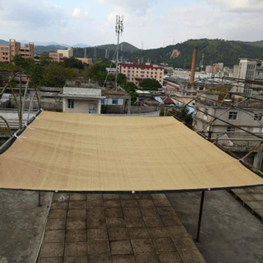 RZEMIN Toldo Patio Sun Net Outdoor Sun Toldo Coche Terraza Aislamiento del Techo Toldo Toldo Vela Adecuado para El Hogar Balcón (Size : 4X10m): Amazon.es: Hogar