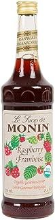 Monin Organic Gourmet Raspberry Framboise Syrup - 750 milliliter