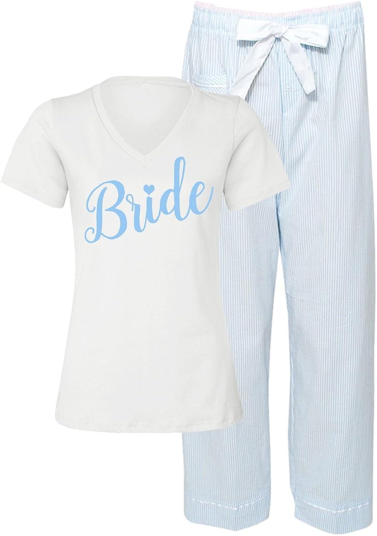 Classy Bride Something bluee Bridal Pajama Set