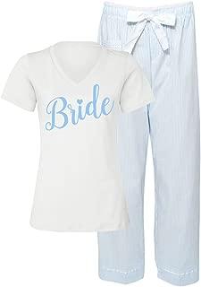 Something Blue Bridal Pajama Pant Set