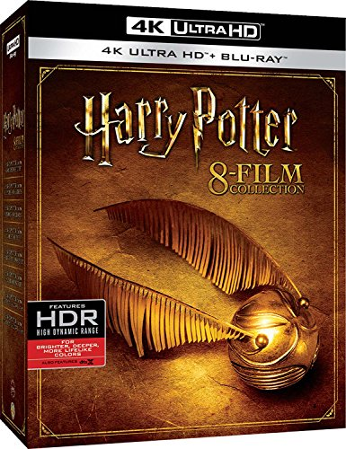 harry potter - 8 film collection (4 blu-ray 4k ultra hd) box set BluRay Italian Import [Blu-ray]