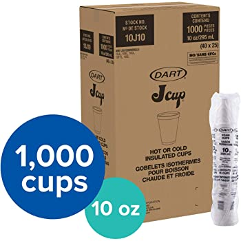 Amazon Com Dart 10ftl White Lift N Lock Lid For Foam Cups And Containers Case Of 1 000 10 Oz Industrial Scientific