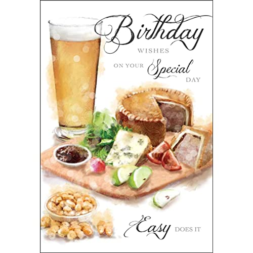 Male Ploughmans Birthday Card