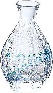 アデリア 酒器 徳利 150ml 花つづり 徳利 大 クリスタルガラス製 日本製 F-70081
