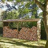 Madeira Abri à bûches en Bois Grand Format - 10 stères