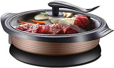 JSMY Pot de Cuisson électrique Multifonctionnel à feu Chaud Wok électrique de Cuisine Domestique et de friture Un Pot Chau...