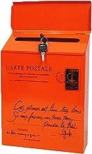 ZHYLing Vintage Retro Wall Mount Mailbox Mail Postbrief Krantendoos Waterdichte Post Dozen Emmer Wandmontage Brievenbus De...