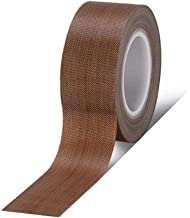 NUOCHEN Tape/Teflon Tape for Vacuum,Sealer Machine,Heat-Resistant High Temperature Tape Anti-scalding TapeHand and Impulse Sealers Teflon Fire Insulation (Color : 0.13, Size : 50mm Wide x 10m Long)