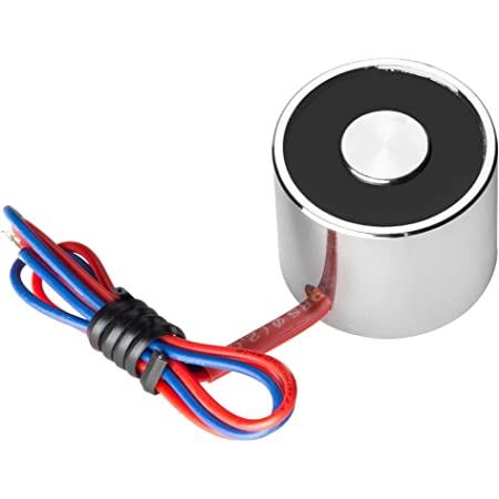 Uxcell a14052300ux1102 Electric Lifting Holder Magnet Electromagnet Solenoid 5.5 lb. 20 mm DC 6V