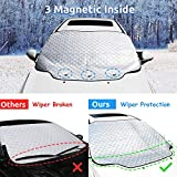 HEHUI Car Windshield Snow Cover,Car Windshield Snow Ice...