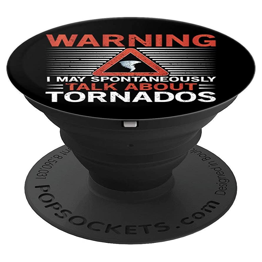 Weather Nerd Meteorologist Tornado Storm Chaser Gift - PopSockets Grip and Stand for Phones and Tablets