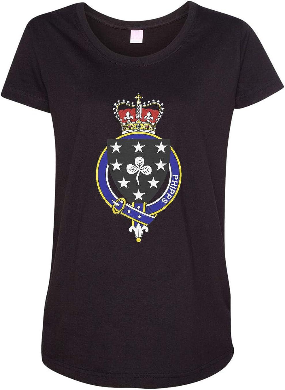 HARD EDGE DESIGN Women's English Garter Family Phipps T-Shirt
