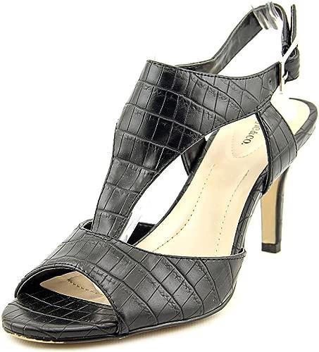 Style & Co. Frauen Saharii Offener Zeh Zur Arbeit Tragen T-Strap Sandalen