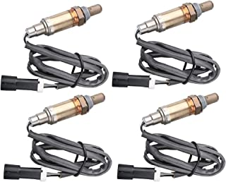 MOSTPLUS O2 Male Oxygen Sensor Up Down Stream for Ford F-150 F-250 5.4L (Set of 4)