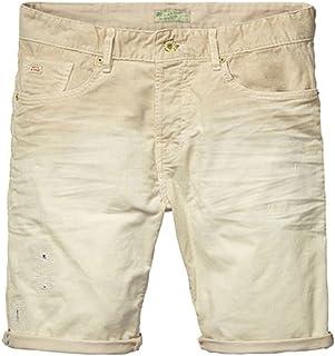 [スコッチアンドソーダ] SCOTCH&SODA メンズ ショートパンツ 5-pocket short, sprayed and denim repairs (コード:4061713919)