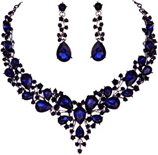Best navy blue bridal jewelry Reviews