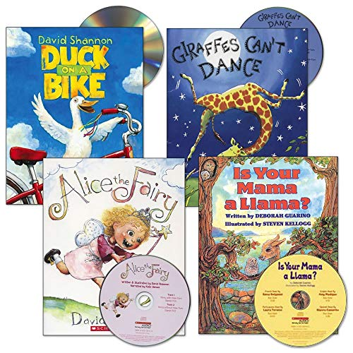 Kaplan Early Learning Company Read-Aloud Books and CDs - Set of 4