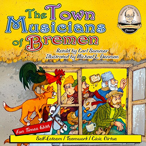 The Town Musicians of Bremen audiobook cover art