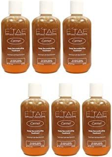 E'tae Natural Products Etae Carmel Deep Reconstructing Treatment for Natural, Relaxed Color Treated Hair 8oz (6 Items)