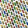 Prextex 50 Pc Die Cast Toy Cars Party Favors Easter Eggs Filler or Cake Toppers Stocking...