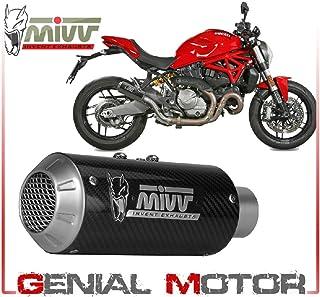 Y.021.LM3C Tubo De Escape Silenciador MIVV MK3 Carbono kat para YAMAHA YZF 600 R6 2006 2016