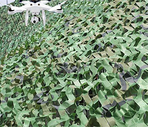 JHKGY Protección solar Camo Net, camuflaje noble Blinds Shade, toldo de malla, para camping, Shooting, caza, actividades al aire libre, playa, animales, fotografía, decoración, 10 × 25M