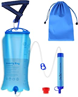 SimPure Gravity Water Filter Straw