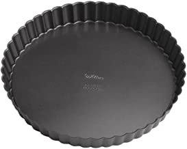 Wilton Perfect Results Premium Non-Stick Bakeware Round Tart and Quiche Pans, Sunday Brunch May Never be The Same Again, F...