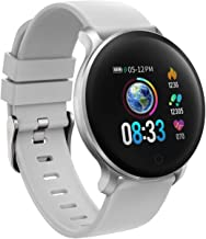 moreFit Smart Watch, IP68 Waterproof Fitness Tracker Watch Color Screen with Heart Rate Blood Pressure Monitor, Activity Tracker with Sleep Monitors, Pedometer, Stop Watch, Great Gift