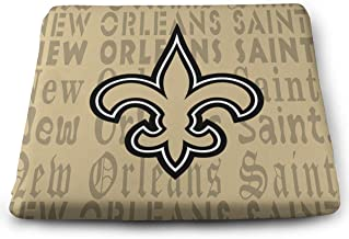 Sorcerer Custom Colorful Chair Pads New Orleans Saints American Football Team Soft Home Office Decoration Square Buttocks Seat Cushion Chair Cushion Pads 13.7