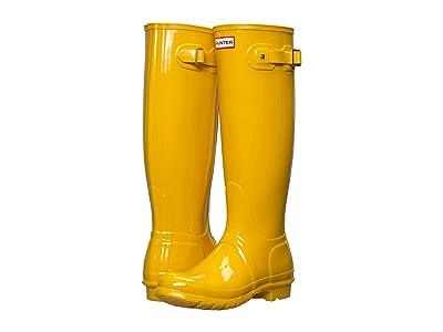 Hunter Original Tall Gloss Rain Boots Women