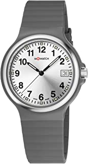 M-WATCH Maxi 38 Analog Silver Dial Men's Watch-WYM.35280.RH